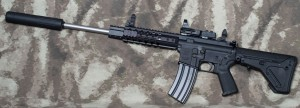 300AAC BLACKOUT AR-15 RIFLE Website Project