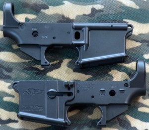 Picture of a CMMG AR15 MOD4SA LOWER RECEIVER, STRIPPED, being utilized in the Precision Target AR-15 Rifle Project