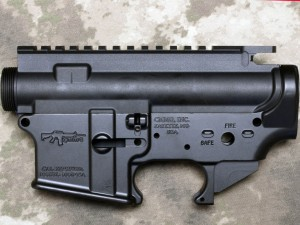 PRECISION TARGET AR-15 RIFLE UTILIZING a CMMG MOD4SA MATCHED RECEIVER SET