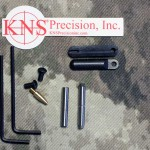 """45 acp AR 15 KNS Hammer and Trigger Pin 2nd Generation Non Rotating AR-15 Small Pin .154"""" Stainless Steel"""