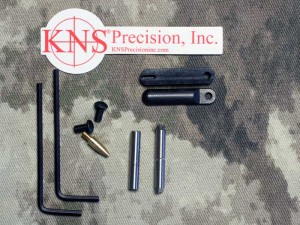 """KNS Hammer and Trigger Pin 2nd Generation Non Rotating AR-15 Small Pin .154"""" Stainless Steel"""
