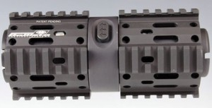 "BALLISTA TACTICAL SYSTEMS NAUTILUS ROTATING RAIL 7"" for AR15"