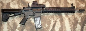 COLT SPORTER AR15 with VLTOR VC-1 FLASH HIDER COMPENSATOR