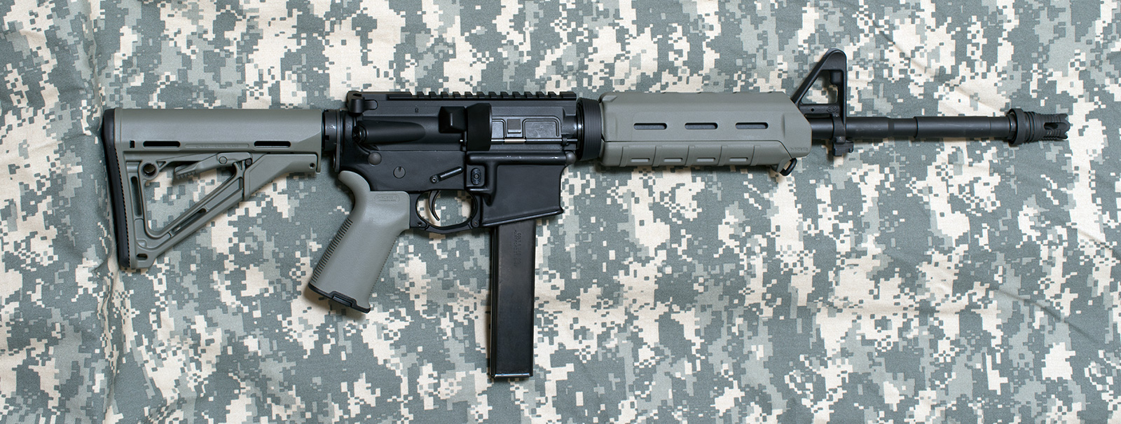 Picture of a 9MM AR15