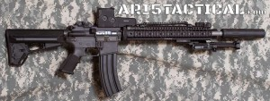 Colt Sporter AR15 Suppressed