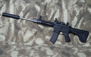 300 AAC Blackout AR-15 Semi Automatic Rifle