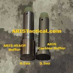 AR15 Carbine Buffer vs AR15 45acp Buffer - www.ar15tactical.com