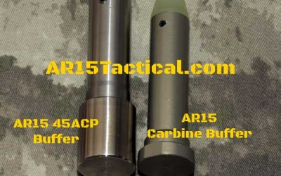 AR15 Carbine Buffer vs AR15 45acp Buffer