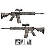 Gunskins AR 15 Skin - V1-AR Camo