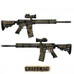 Gunskins AR 15 Skin - Deepfield Camo