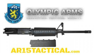 Olympic Arms AR15 9mm Upper Receiver