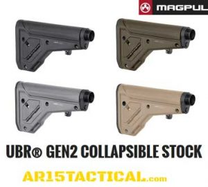 MAGPUL UBR 2.0 COLLAPSIBLE AR15 STOCK