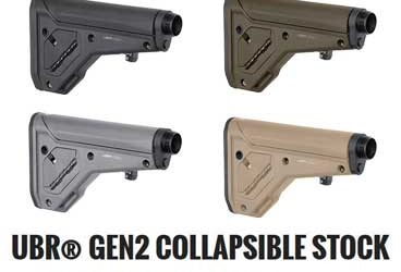 UBR 2 0 COLLAPSIBLE AR15 STOCK