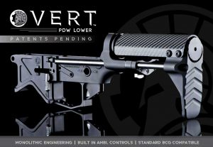 BAD-PDW Monolithic PDW Lower Receiver VERT Stock System