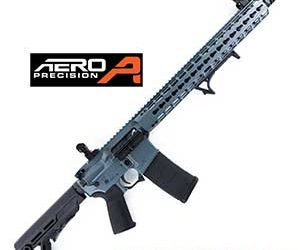 Aero Jesse James Cold War Grey Cerakote AR15