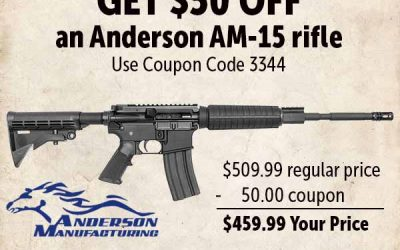 Anderson AM-15 Cheap AR-15 | Brownells Coupon Code