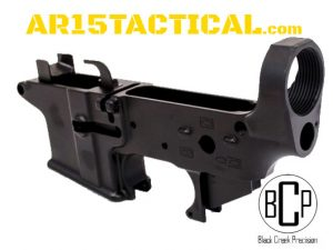 Black Creek Precision EF9 9mm AR-15 Lightened Forged Lower Receiver
