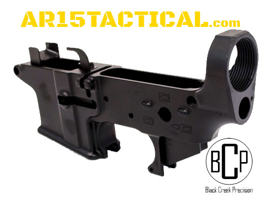 Black Creek Precision EF9 9mm AR-15 Lightened Forged Lower Receiver