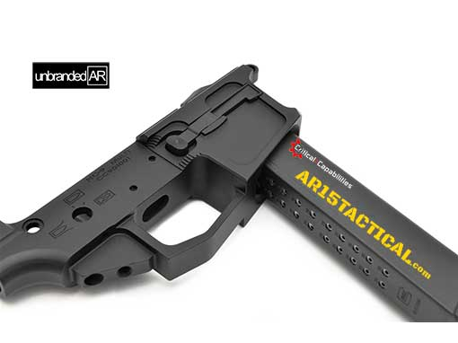 CRITICAL CAPABILITIES LLC 9mm AR-15 LOWER RECEIVERS GLOCK MAG COMPATIBLE. Note: Critical Capabilities is also known as Unbranded AR.