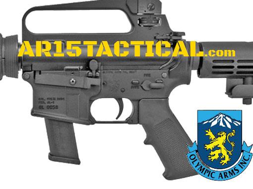 Olympic Arms K9-GL 9mm AR-15 Glock Lower Receiver