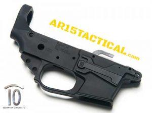 Quarter Circle 10 Glock Small Frame Lower Receiver 9MM AR 15