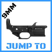 9MM AR 15 LOWER RECEIVERS