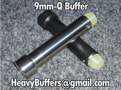 Heavy Buffers 9mm Q Buffer is the Best 9mm AR Buffer