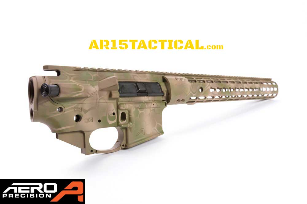 Aero Precision M4E1 Desert MAD Dragon AR-15 Builder Set