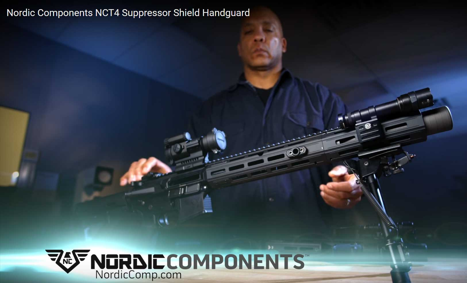 Nordic Components NCT4 Suppressor Shield Handguard
