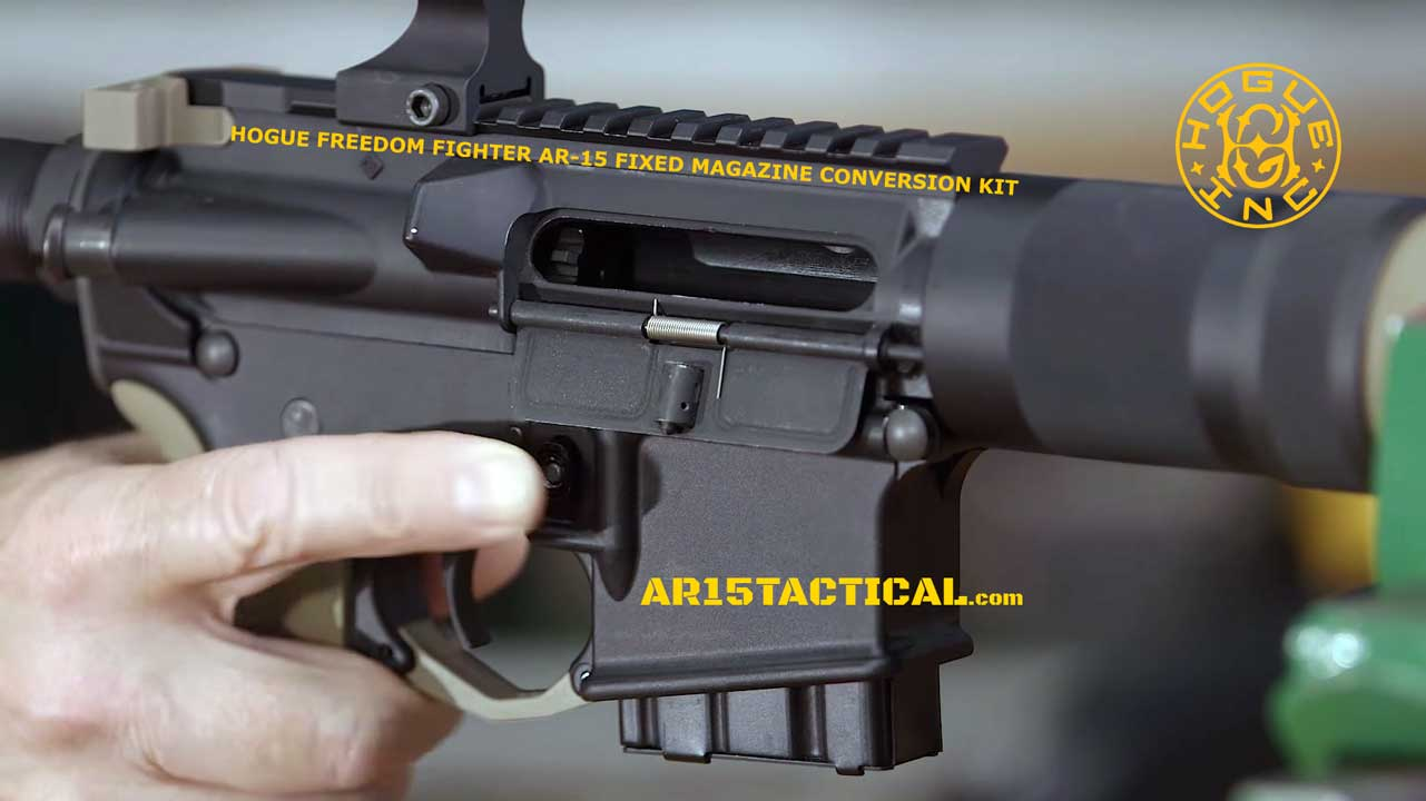 HOGUE AR-15 FREEDOM FIGHTER FIXED MAGAZINE CONVERSION KIT