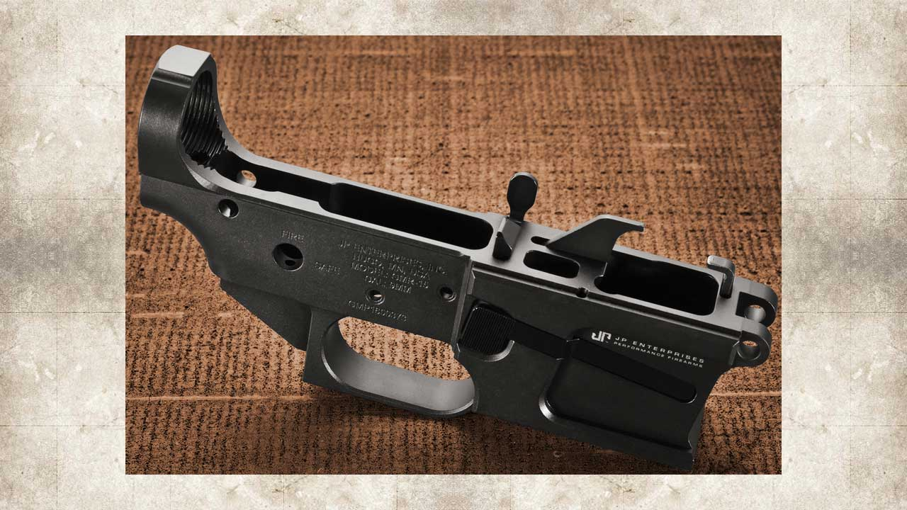 Picture of a JP GMR-15 9MM BILLET LOWER RECEIVER KIT