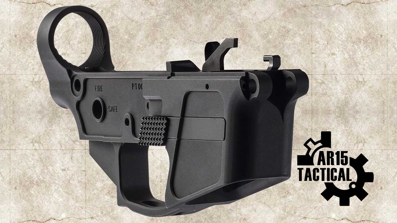 Picture of a Primary Weapons Systems 9MM PCC Stripped Lower Receiver