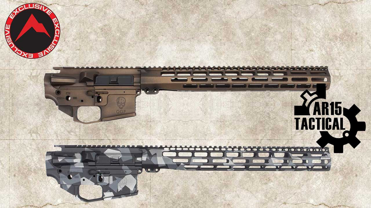 """Picture of a GREY GHOST PRECISION AR-15 BILLET BUILDERS KIT 15"""" RAINIER ARMS EXCLUSIVE"""