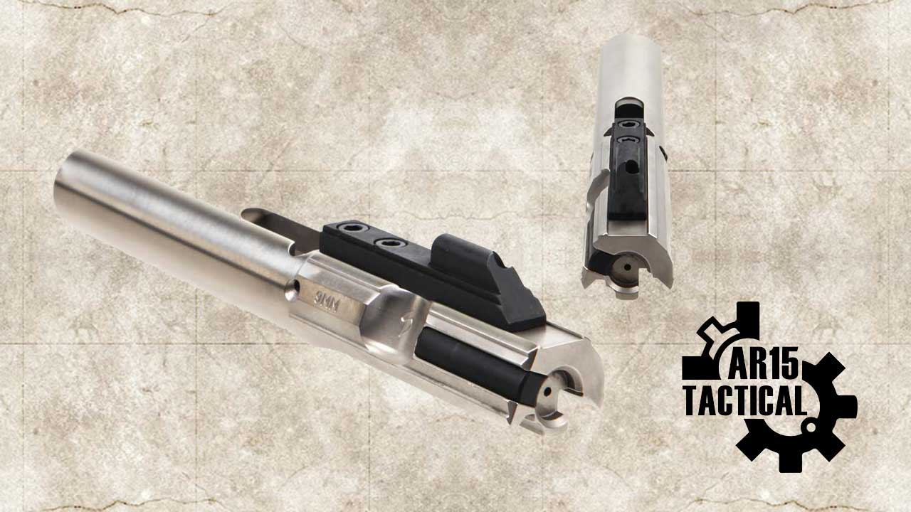Picture of a Stern Defense 9MM Glock Colt Complete AR-15 Bolt Carrier Group SD BU9 ECHO NiB