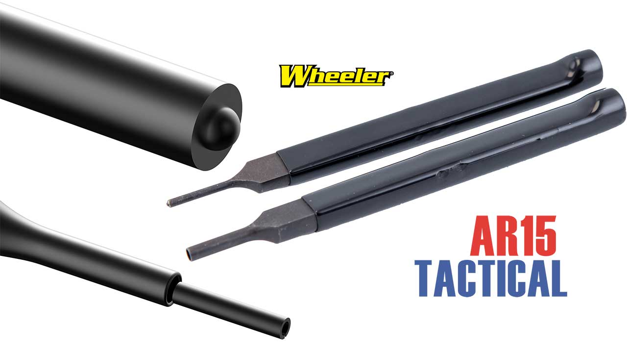 Picture of a Wheeler Engineering Delta Series AR-15 Bolt Catch Installation Punch Kit