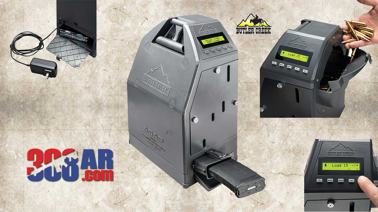 Picture of a Butler Creek AR-15 ASAP Electronic Magazine Loader
