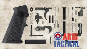 Picture of a AR 15 Lower Parts Kit Mil Spec