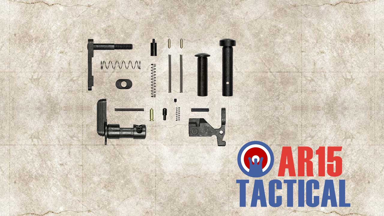 Picture of a AR 15 Lower Parts Kit Minus FCG Pistol Grip