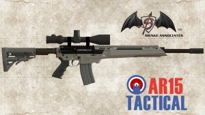 Drake ATHENA Semi Automatic Precision Chassis Rifle