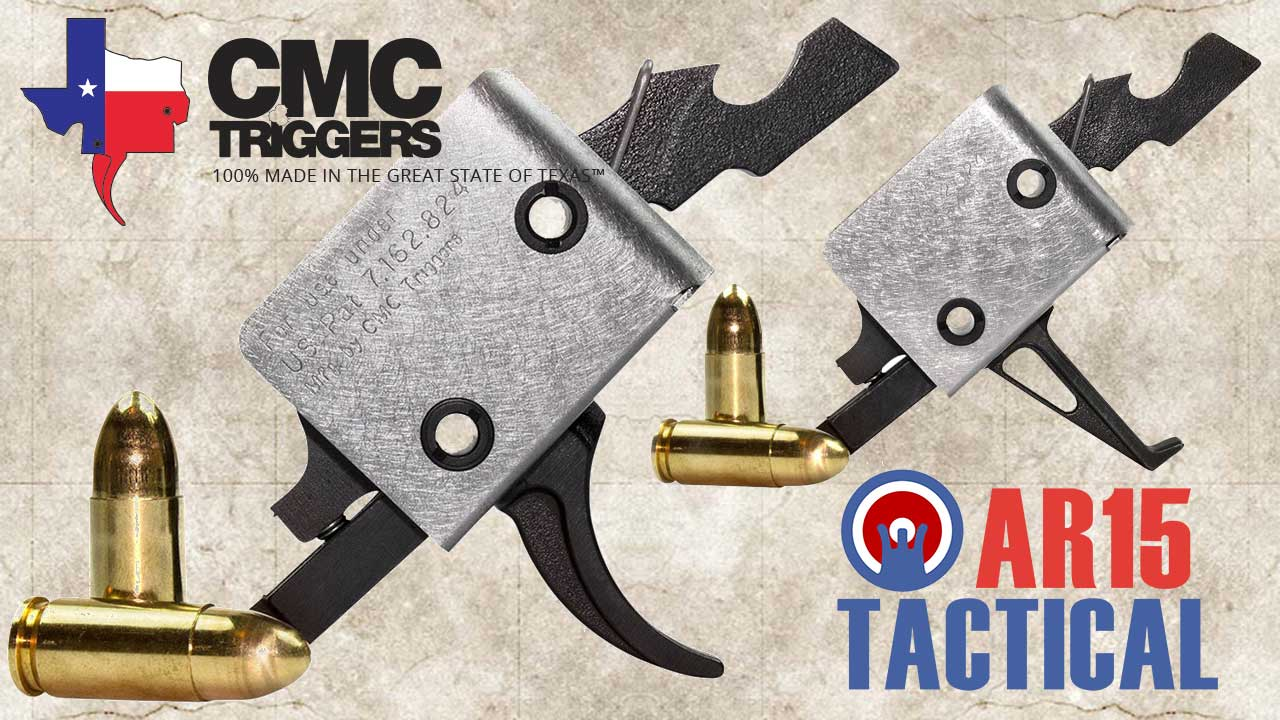 Picture of a CMC PPC 9mm AR Trigger