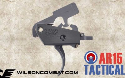 Wilson Combat Two Stage 9mm AR15 Trigger TR-TTU-9MM