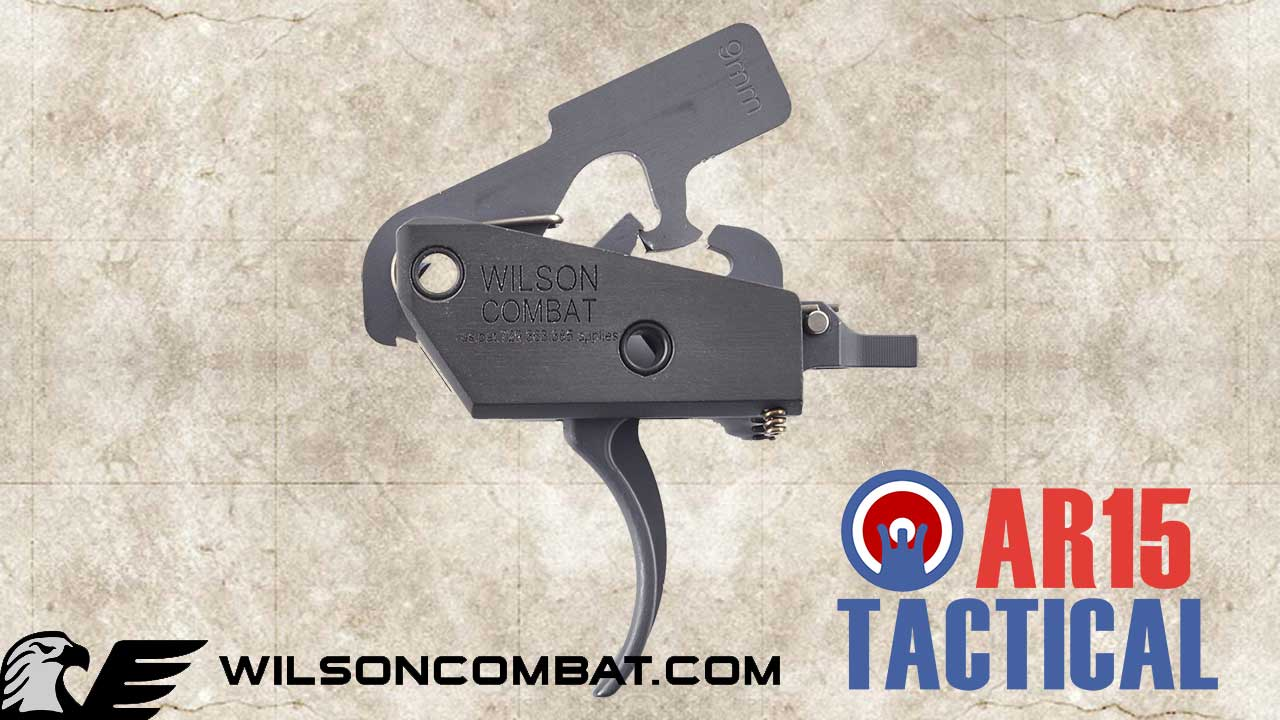 Picture of a Wilson Combat 2-Stage 9mm AR15 Trigger TR-TTU-9MM