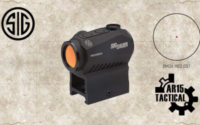 Sig Sauer ROMEO5 1x20mm Red Dot Sight SOR52001
