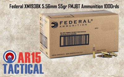 American Eagle 5.56mm 55gr FMJBT Ammunition 1000rds Loose Pack XM193BK